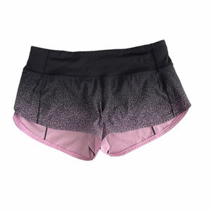 Lululemon Speed Up Shorts Ombre Speckle